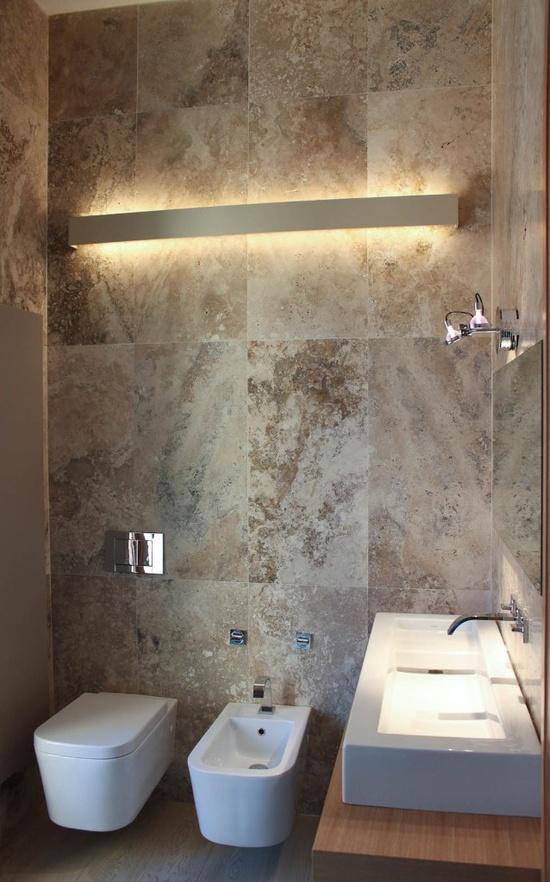Bagno piccolo arredarelowcost - Bagno di marmo ...